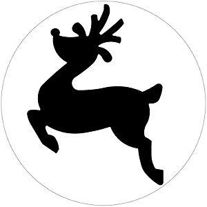 reindeer silouette | Stencils/ SVG | Pinterest