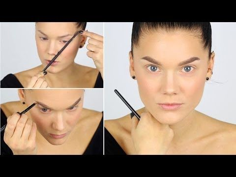 eyebrow tutorial for beginners 2017