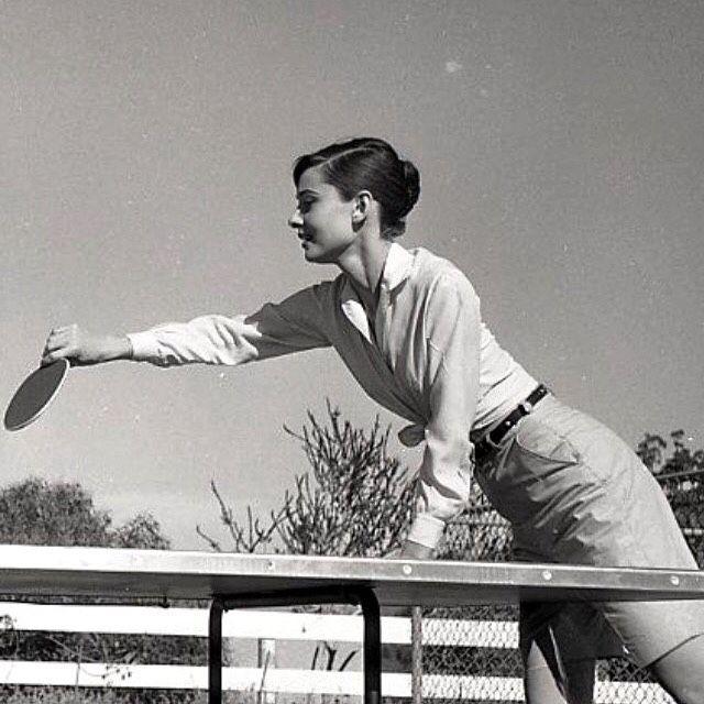 Rare Audrey Hepburn — timelessaudrey: Audrey,Mel and Mr Famous...
