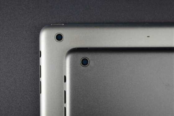 High resolution images of the newest iPad version (iPad 5) in silver and space grey posted by Sonny Dickson - 2