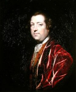 TOWNSHEND'S FOLLY: Had Chancellor of the Exchequer Charles Townshend, depicted in a portrait by Sir Joshua Reynolds, wanted to provoke the American colonies into rebellion, he could not have devised a better scheme than his Revenue Act of 1767.