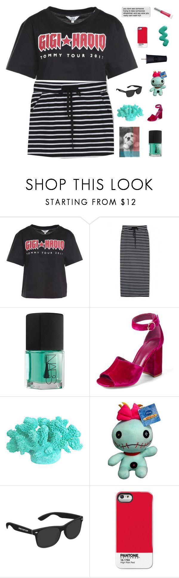 """""""♡ we came here to shop and we came here to flirt"""" by deli-lemonade ❤ liked on Polyvore featuring WithChic, NARS Cosmetics, Joie, Trish McEvoy and kats13k"""