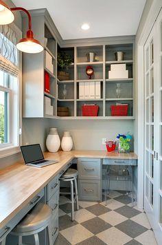 Как обустроить балкон - домашний офис » Мой дом. Креативные идеи и рецепты для всей семьи.