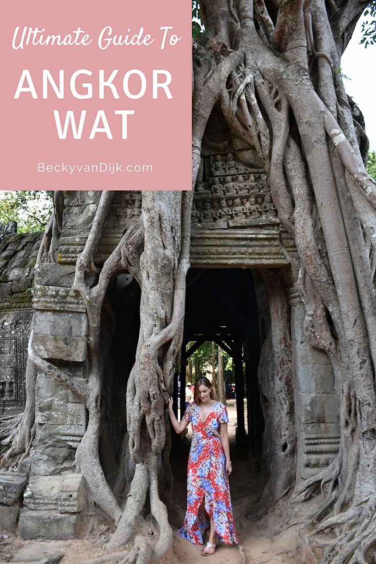 Ultimate Guide To Exploring The Temples Of Angkor Wat- Read my ultimate guide for spending 3 days exploring the ancient Angkor complex. Including helpful tips, what to bring and what to see.