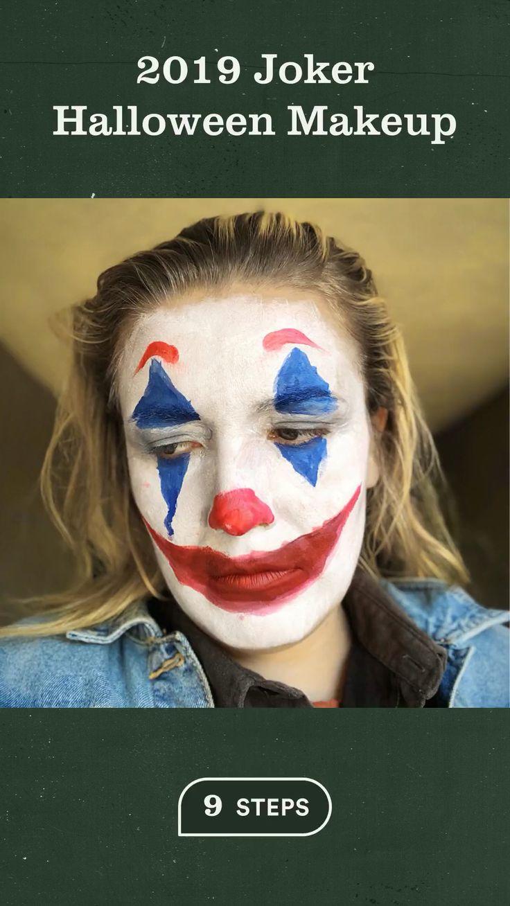 2019 joker halloween makeup video joker halloween