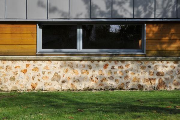 78 id es propos de bardage fibro ciment sur pinterest for Fenetre horizontale