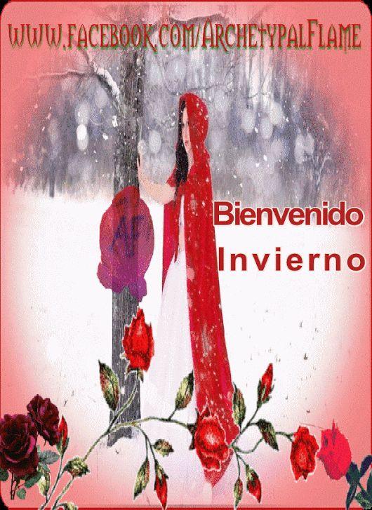 Archetypal Flame  Bienvenido Invierno 🌹 🌹🌹 🌹  Like ♥♪♫ Comment ♥♪♫ Share  Happy winter  καλό Χειμώνα  Bem vindo inverno  #ArchetypalFlame,#winter,#Invierno,#inverno,#beauty, #health,#inspiration,#gif,#gifs,