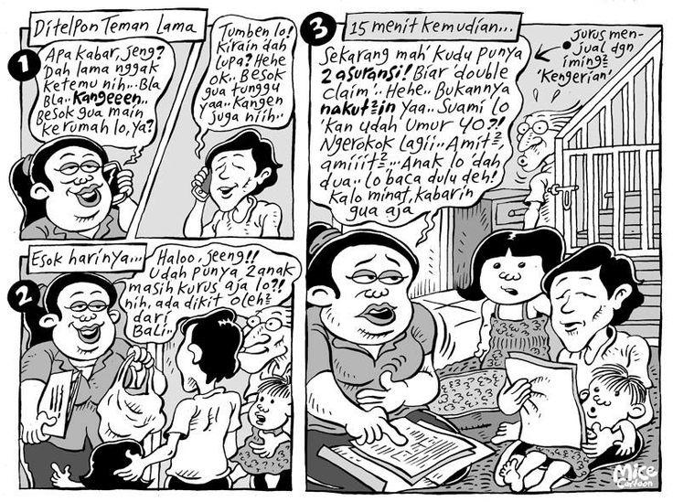 Mice Cartoon: Kunjungan Teman Lama (Kompas 24.11.2013)