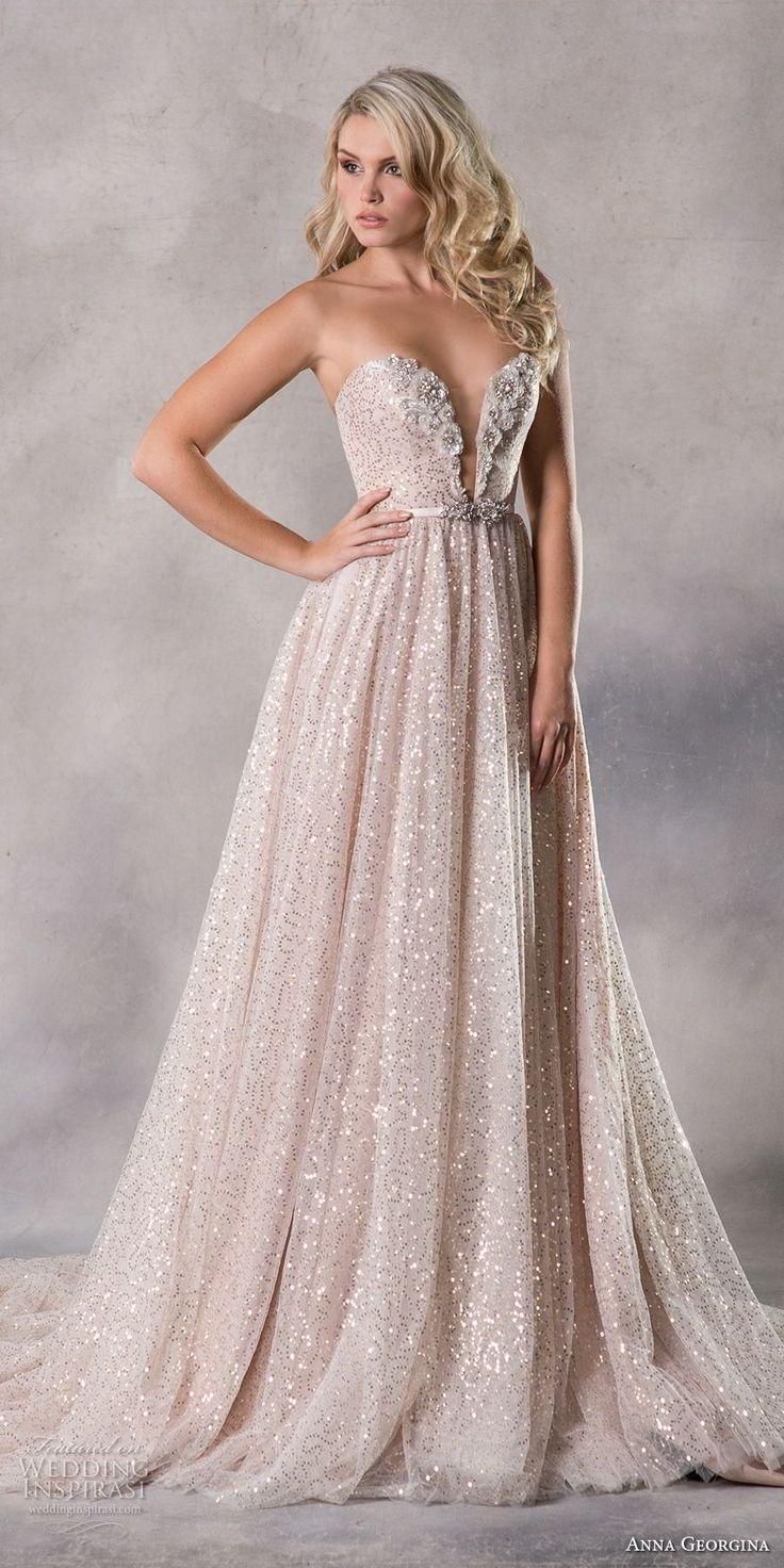 "Anna Georgina 2019 Couture Wedding Dresses — ""Pandora"" Bridal Collection"