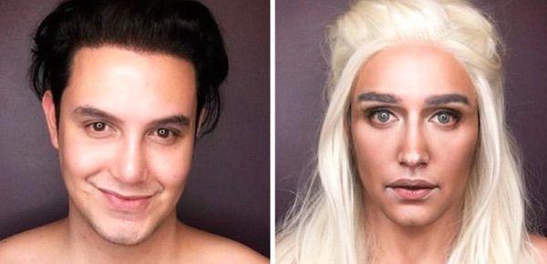 "Grazie a questo make-up artist, Paolo Ballesteros puoi diventare un'attore da ""Game Of Thrones""! #spygossip #spytwins #spybeauty #makeup #makeupartist #gameofthrones #actor #hollywood"