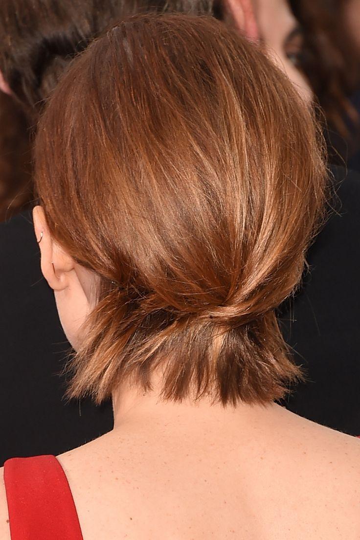 Formas de peinar un pelo corto