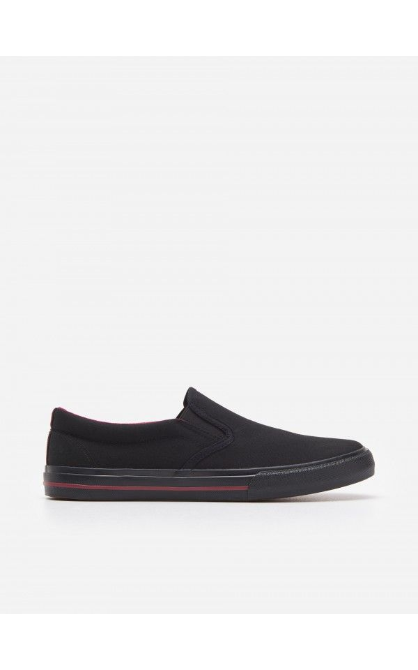 Tenisowki Buty Czarny House Vans Classic Slip On Sneaker Slip On Sneaker Sneakers