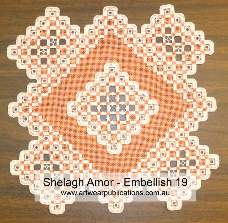 Learn what the judges look for when you enter your embroidery into shows.  Shelagh Amor, a member of The Embroiderers Guild, Victoria, and respected tutor and embroiderer, takes us through various points to watch out for.  www.artwearpublications.com.au  #embroidery #hardanger