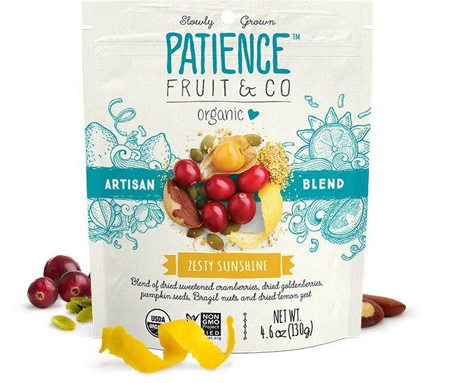 Patience Fruit & Co. - Organic Snacks - Zesty Sunshine