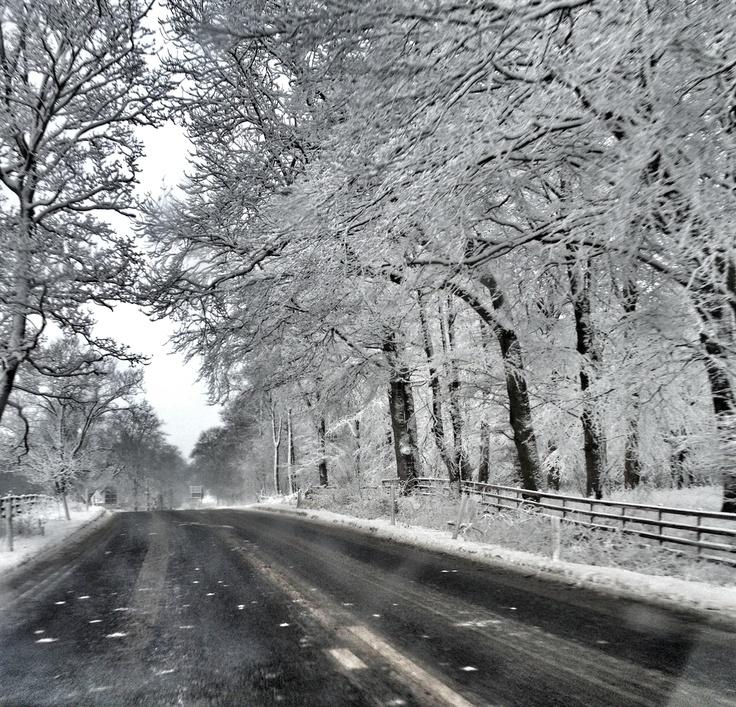 Winter road Teesdale UK by @davidlaud