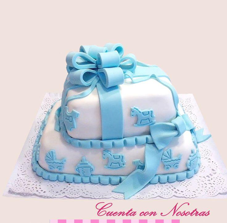 Torta Baby Shower Torta Regalo Baby Shower Cake