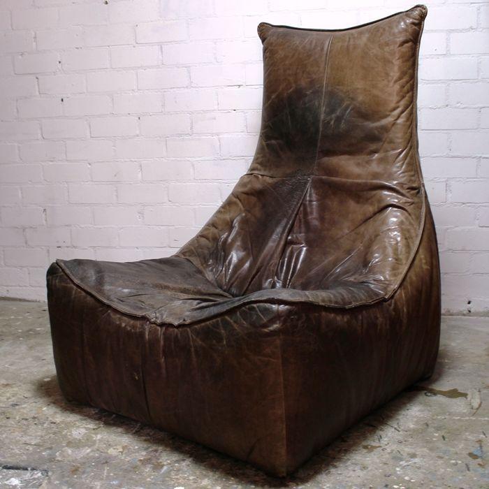 17 beste idee n over lederen fauteuils op pinterest - Chaise rock bobois leer ...