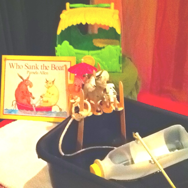 Who sank the boat by Pamela Allen This weeks story for my littlies
