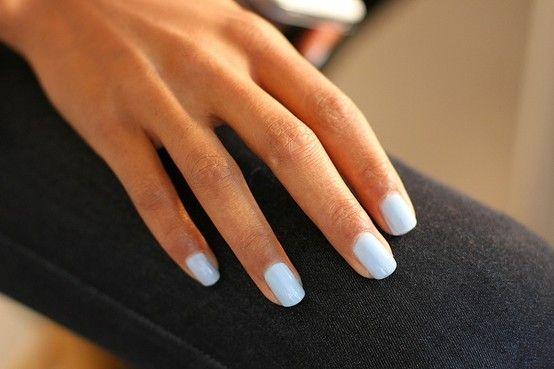 Oscar de la renta blue nails. #obsessed