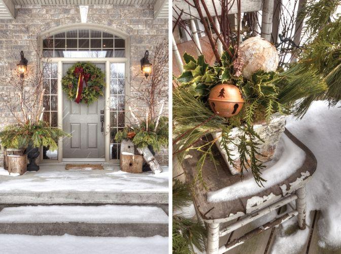 39 Best Winter Porch Decorating Images On Pinterest La
