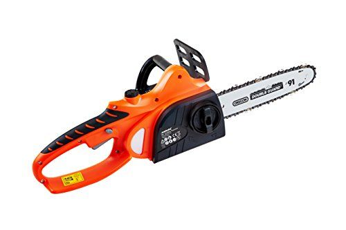 "eSkde Cordless Chainsaw Heavy Duty 18v Lithium Battery 10"" Oregon Bar and Chain---74.51---"