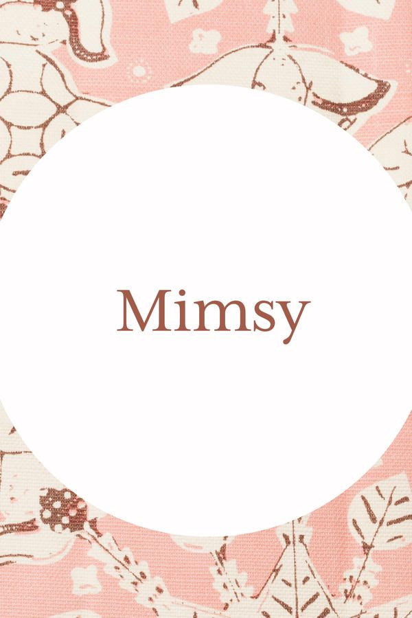 Mimsy - Our Favorite Southern Grandma Names - Southernliving. null