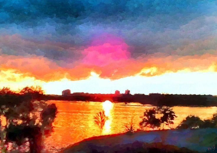 https://flic.kr/p/CJRRCs   Sunset in Minsk   The City Of Minsk, Belarus. (Chizhovka Arena)