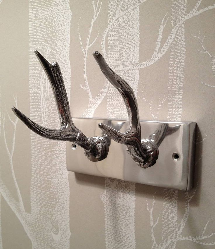 Antler Coat Hooks Home Decor