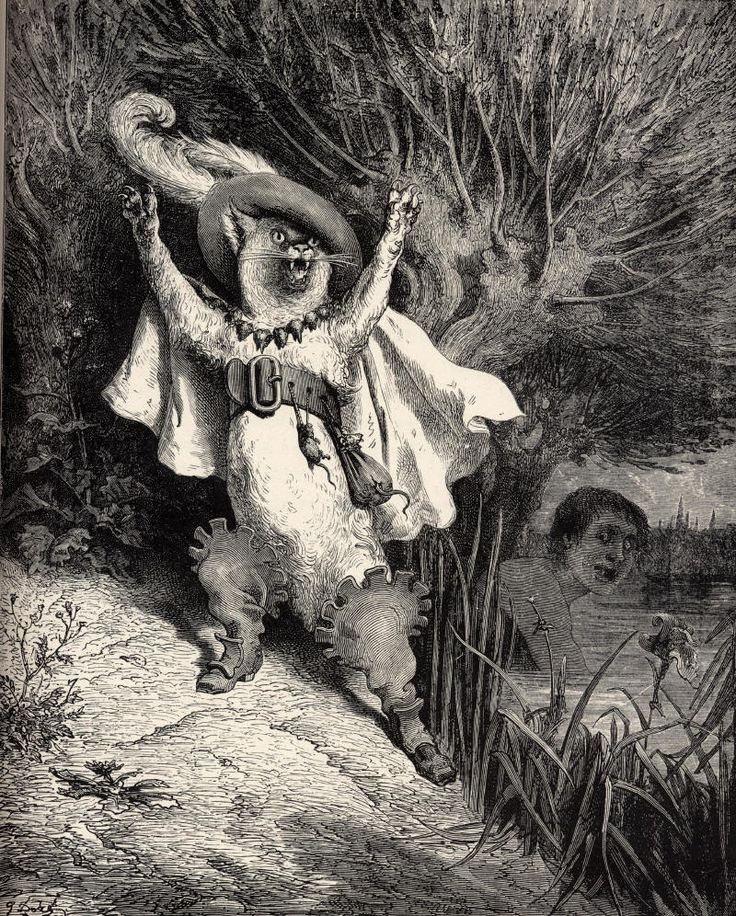 • Gustave Doré // Le chat botté