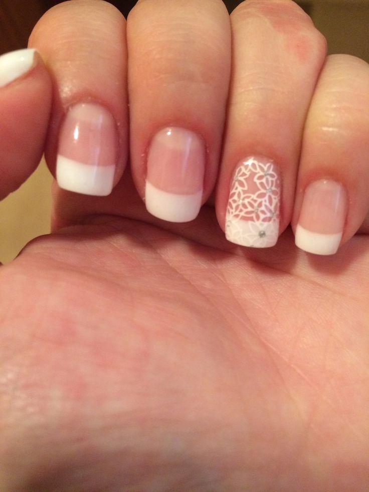 Manicura francesa. Nails