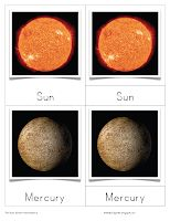 We will begin learning about the Planets and the Solar System in just over a month. I really like the images on this set of nomenclature ca...