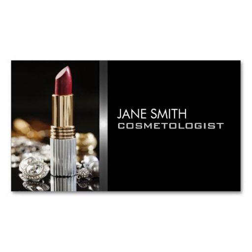 Makeup Artist Cosmetologist Cosmetology Elegant Business Card Template http://www.zazzle.com/makeup_artist_cosmetologist_cosmetology_elegant_business_card-240212559213523829?rf=238194283948490074&tc=pfz