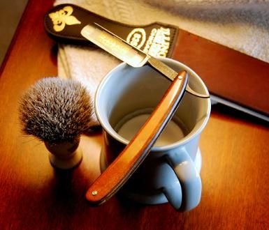 Gift certificate for a shave and haircut at White Oak Barbershop. $45  Main Site | White Oak Barbershop