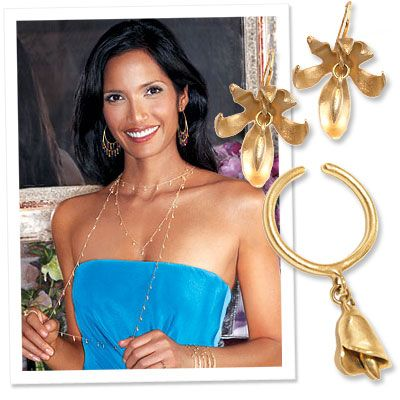 Tweet To Win Padma Lakshmi Jewelry from InStyle.com