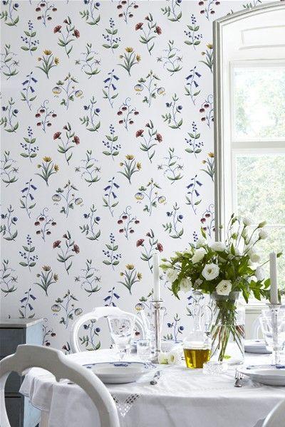 Karlslund – Säfström #karlslund #boråstapeter #wallpaper #tapet