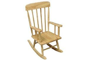 Wooden child's rocker from Amazon