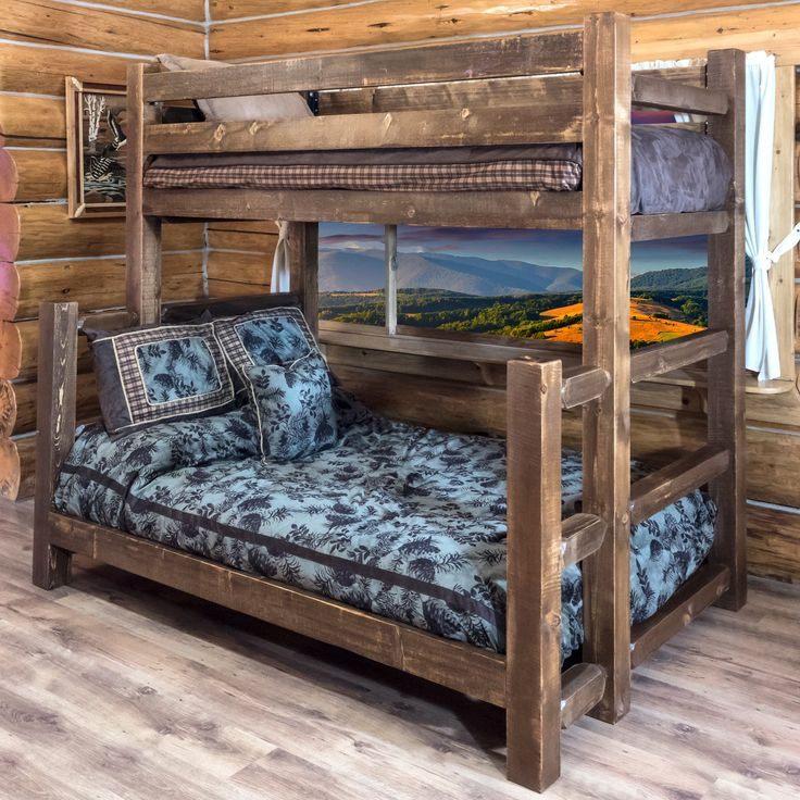 Montana Woodworks Homestead Twin Over Full Bunk Bed