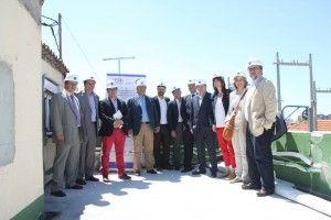 14-6-2013 #proyectoprei Visita de autoridades. Comunidad de Madrid, EMV y Ministerio de Fomento.