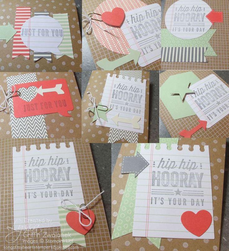 Hip Hip Hooray card-making kit