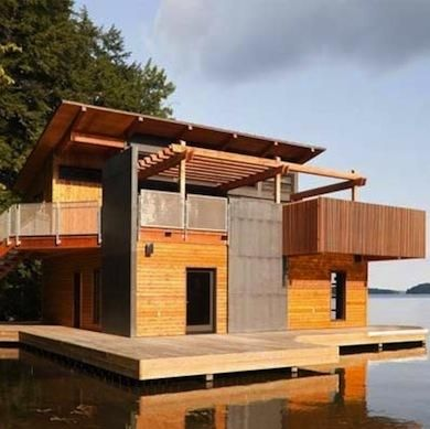 17 best homes that float images on pinterest floating for Tiny house builders ontario
