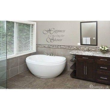 Nálepky na stenu do kúpeľne - Shower
