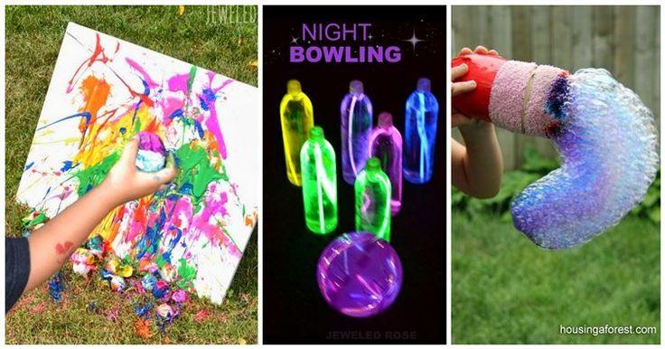 17 Handwerk, um Ihre Kinder den ganzen Sommer über beschäftigt zu halten | Diply   – kids crafts