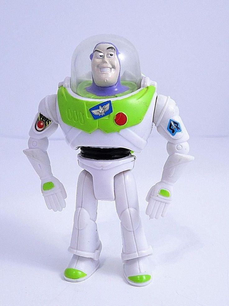 Disney Pixar Toy Story Buzz Lightyear Action Figure Burger King Toy 4.25 Inch #Disney