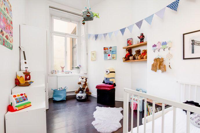 bright and well designed nursery