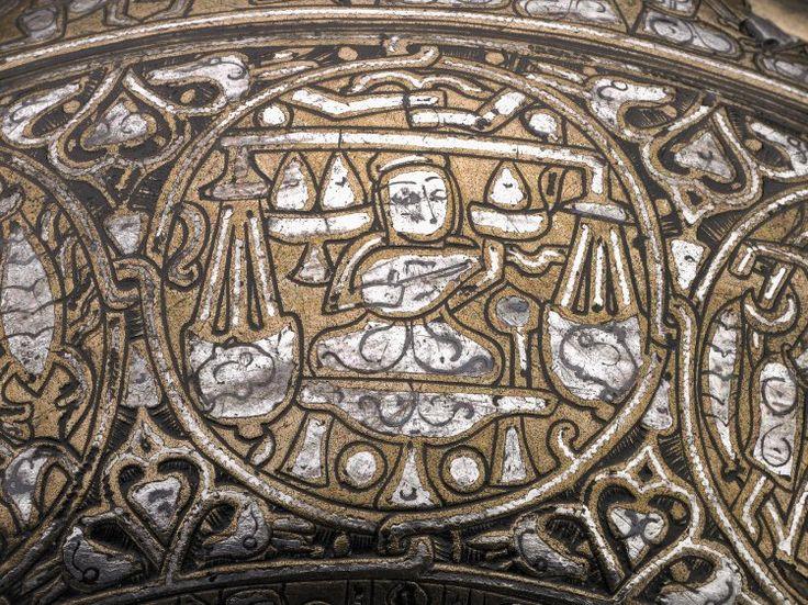 The Vaso Vescovali, circa 1200 Herat (modern Afghanistan). Sign of Libra.