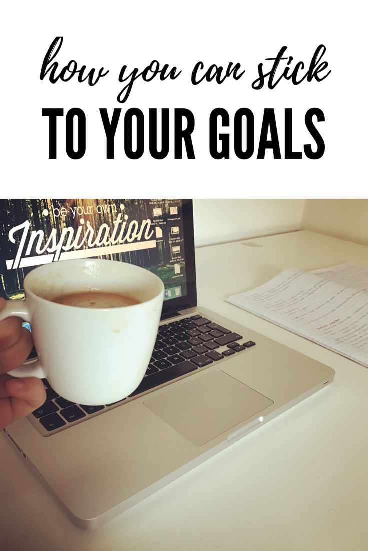 How you can stick to your goals with easy techniques! These are techniques to give you an extra motivation to achieve your goals without feeling frustrated. Never give up!