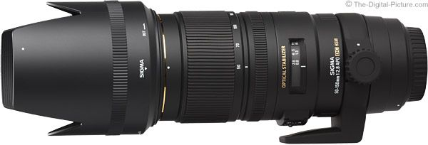 Sigma 50-150mm f/2.8 EX DC OS HSM Lens Product Images