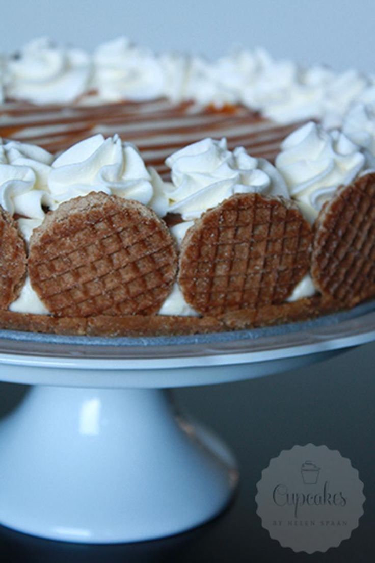 Stroopwafel taart, alles wat lekker in één taart