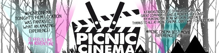 Can't wait! Picnic Cinema is an outdoor cinema experience set in extraordinary locations across the north of England. No. REALLY extraordinary. Lake District, castles, deep in the heart of forests.