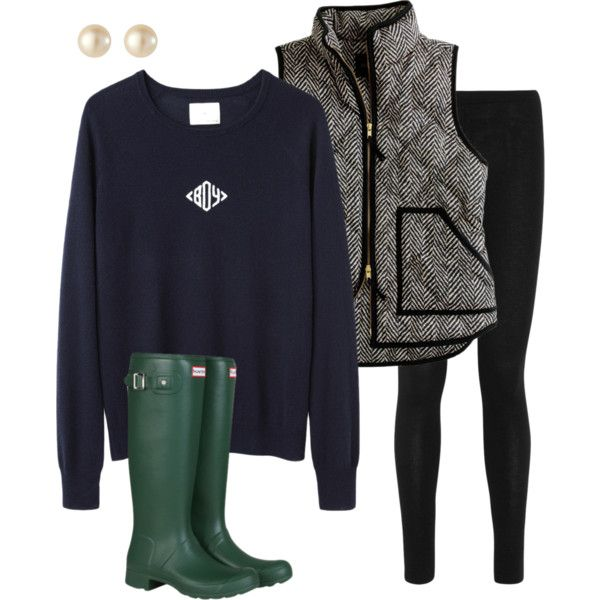 Perfect chilly weather outfit.. Switch the green Hunters to my teal ones.